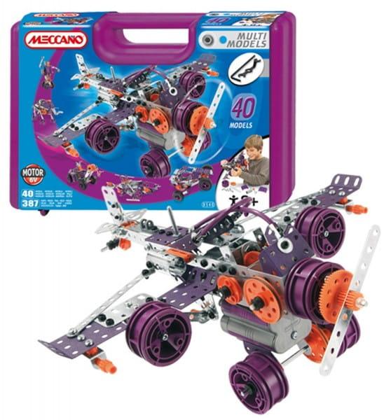Купить Конструктор Meccano Multimodels Биплан - 40 моделей в интернет магазине игрушек и детских товаров