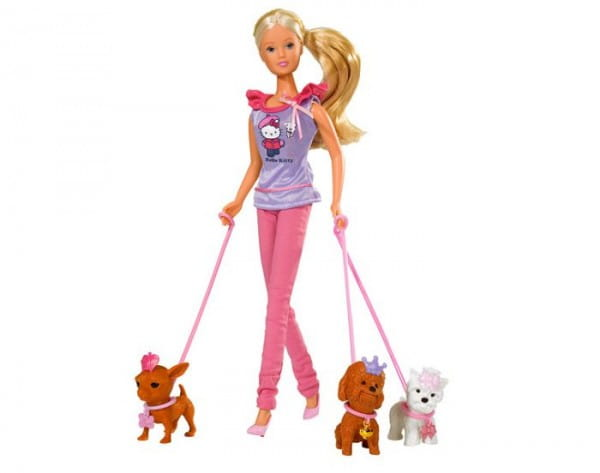 Кукла Steffi Штеффи с собачками (Simba)