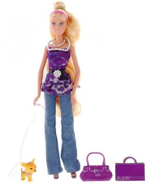 Кукла Steffi Штеффи Пурпурная супермодель (Simba)