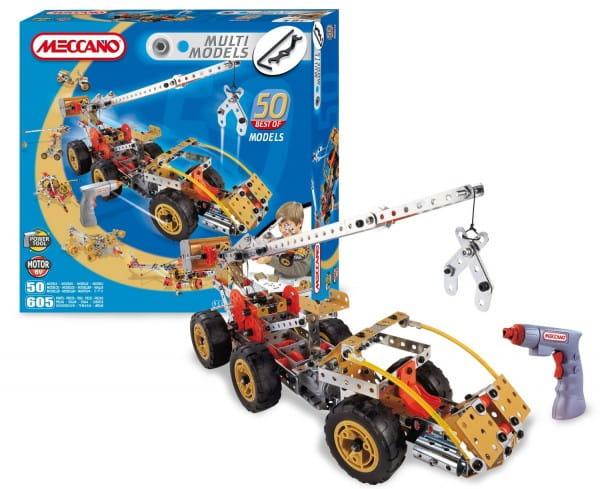 Купить Конструктор Meccano Multimodels Кран-манипулятор - 50 моделей в интернет магазине игрушек и детских товаров