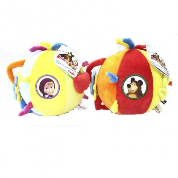 Плюшевый шар-погремушка Simba Маша и Медведь
