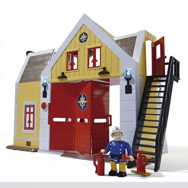 Игровой набор Fireman Sam Пожарный Сэм Пожарная станция со звуком и светом (Simba)
