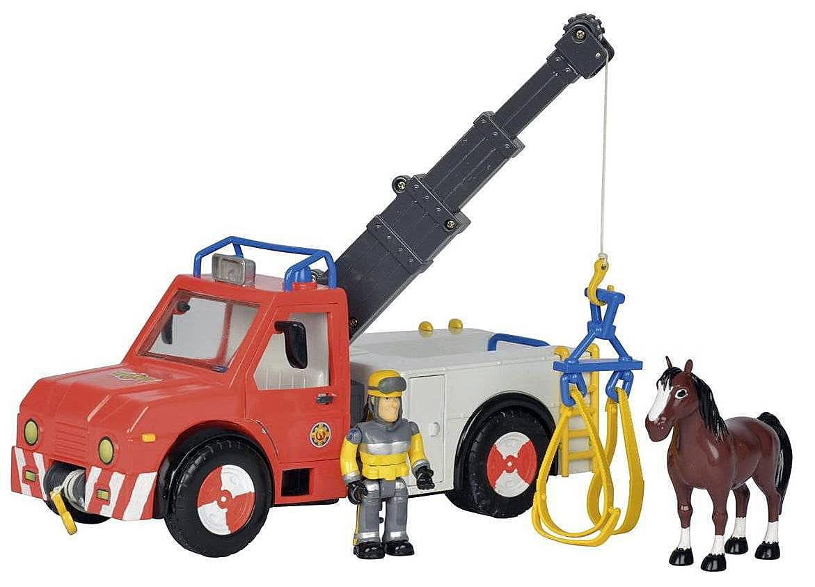 Игровой набор Fireman Sam Пожарный Сэм Машина Феникс (SIMBA)
