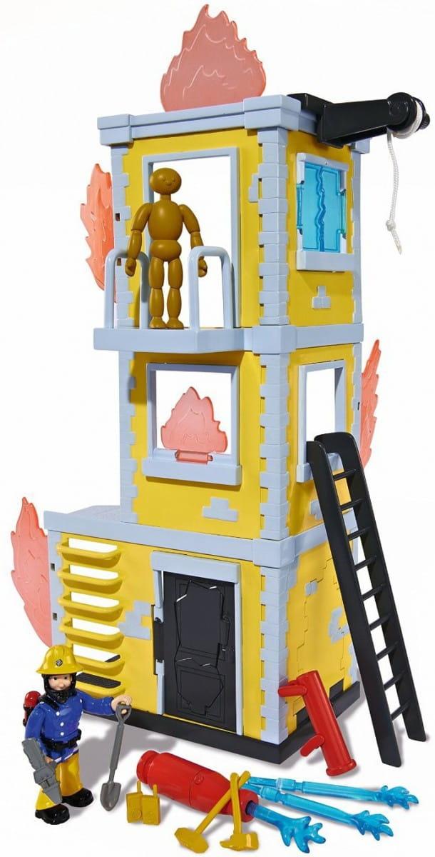 Игровой набор Fireman Sam Пожарный Сэм Большая тренировочная база (Simba)