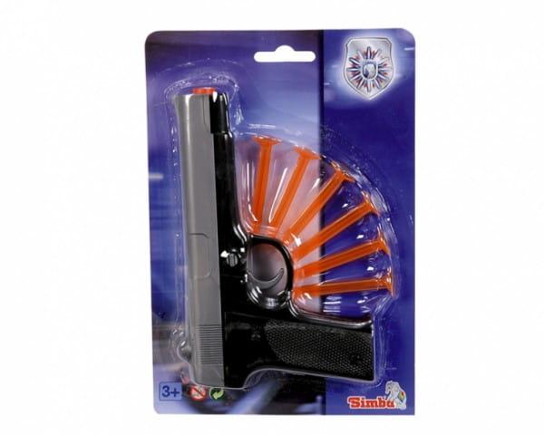 Пистолет с липучками Simba 8106843 - 22 см