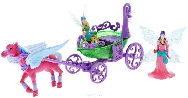 Игровой набор Simba 4410389 Лошадка с каретой