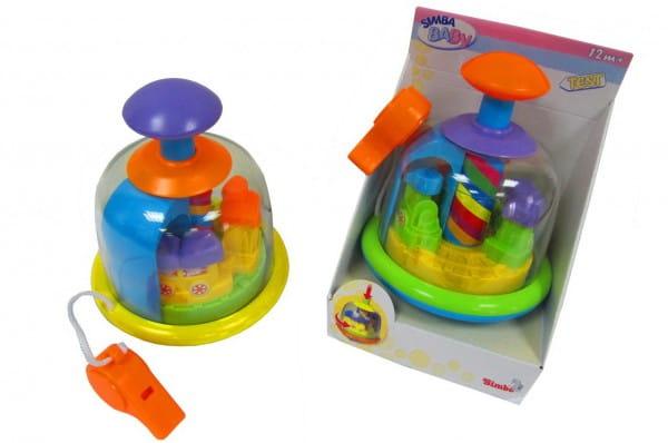 Развивающая игрушка Simba Юла радужная