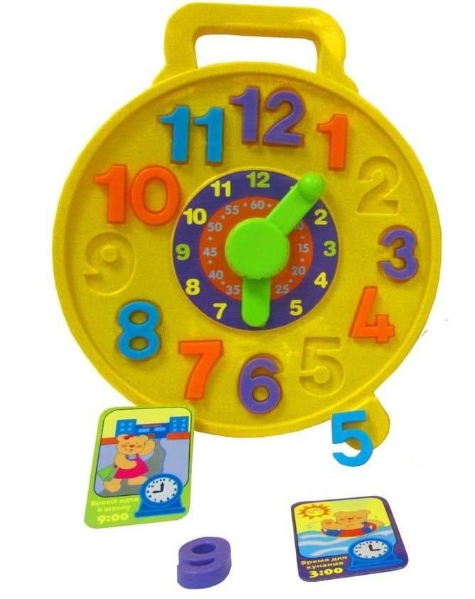 Развивающая игрушка Simba 4018972 Часики - пазлы