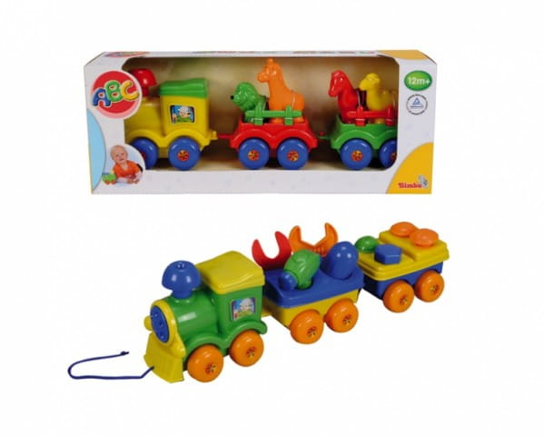 Развивающая игрушка Simba Паровозик-каталка