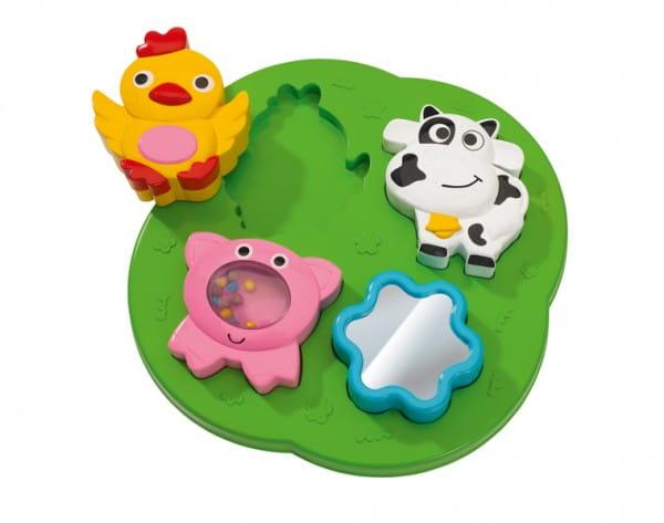 Развивающая игрушка Simba 4010627 Пазлы-животные