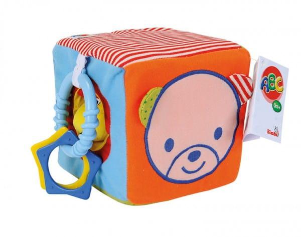 Развивающая игрушка Simba Мягкий кубик