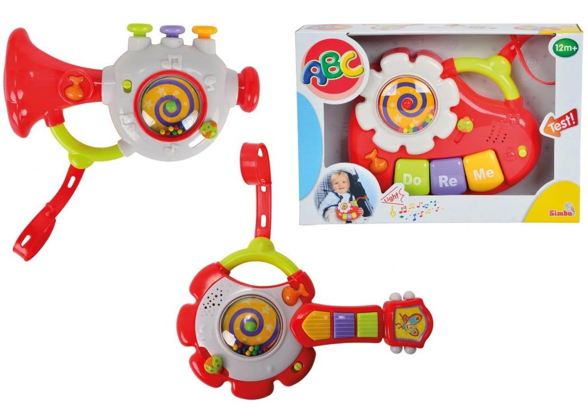 Музыкальная игрушка Simba Инструменты 3 в 1