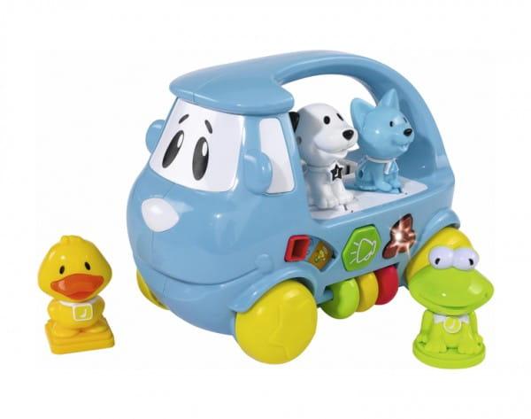 Развивающая игрушка Simba Машинка-сортер с животными
