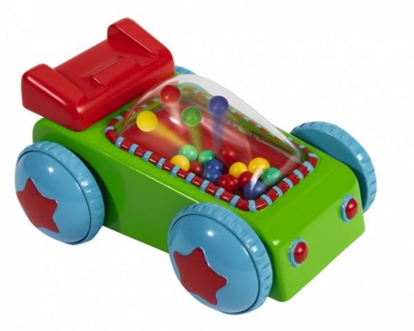 Развивающая игрушка Simba 4014239 Машинка с цветными шариками