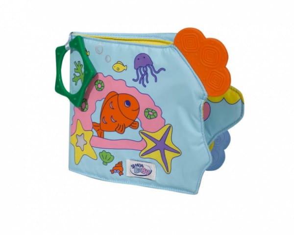 Развивающая игрушка Simba 4017214 Книжечка для купания