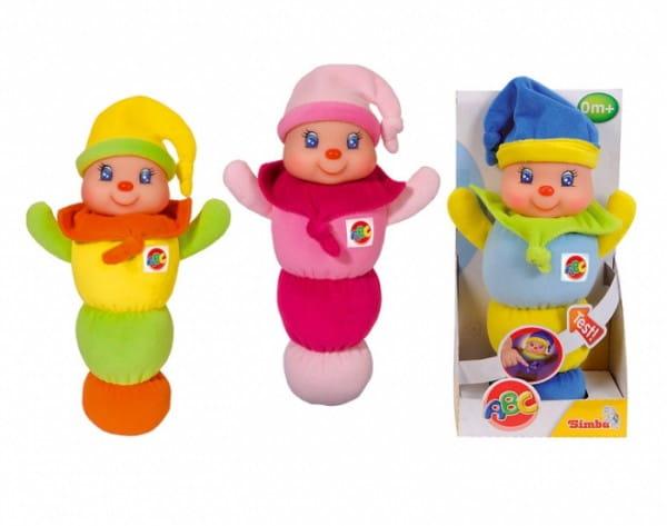 Развивающая игрушка Simba 4011653 Клоун (светится при нажатии)
