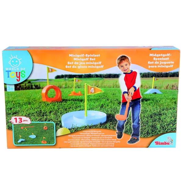 Купить Игровой набор Simba Мини-гольф в интернет магазине игрушек и детских товаров
