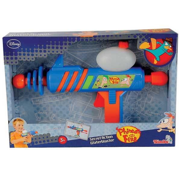 Водное оружие Simba Финнес и Ферб