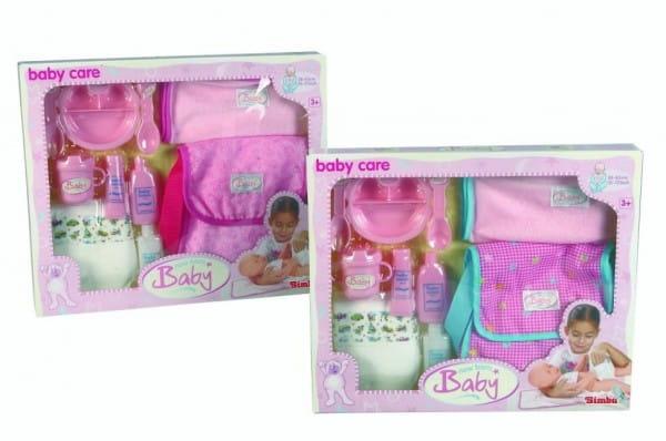 Купить Игровой набор Simba Сумка для пупса в интернет магазине игрушек и детских товаров