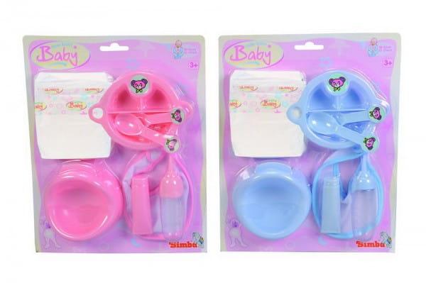Купить Игровой набор Simba для кормления пупса 30-43 см в интернет магазине игрушек и детских товаров