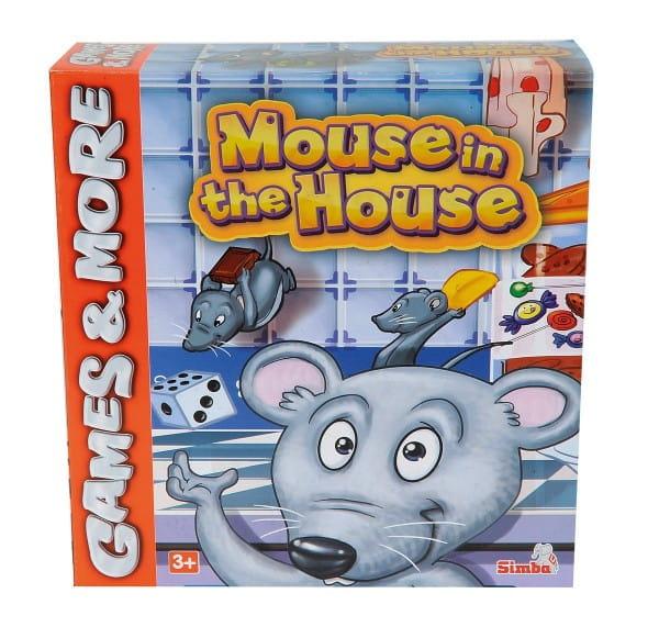 Купить Настольная игра Simba Мышки в домике в интернет магазине игрушек и детских товаров