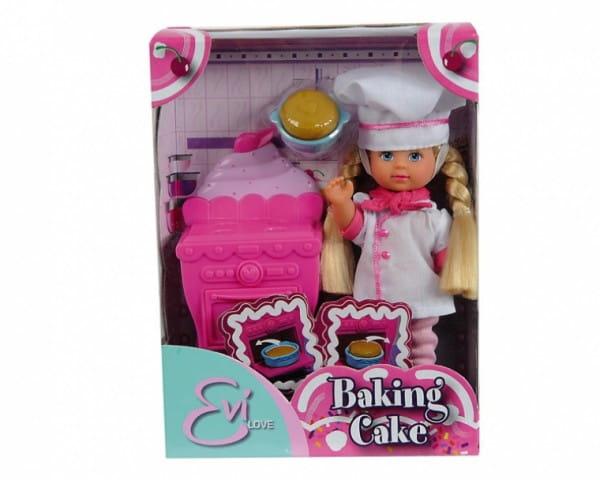 Игровой набор Evi Еви печет торт (Simba)