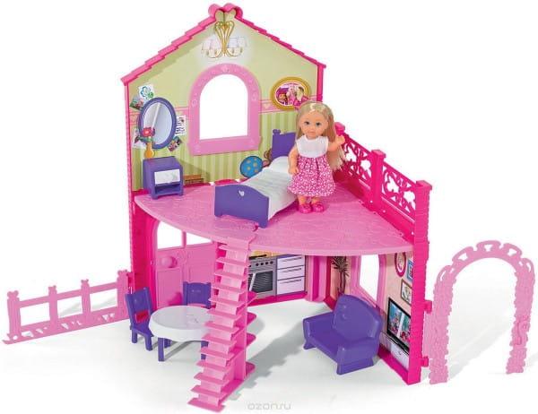 Игровой набор Evi Еви в двухэтажном доме (SIMBA)