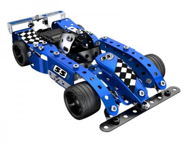 Купить Конструктор Meccano Turbo Эволюшн (синий) в интернет магазине игрушек и детских товаров