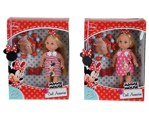 Кукла Evi Еви Minnie Mouse с аксессуарами (Simba)