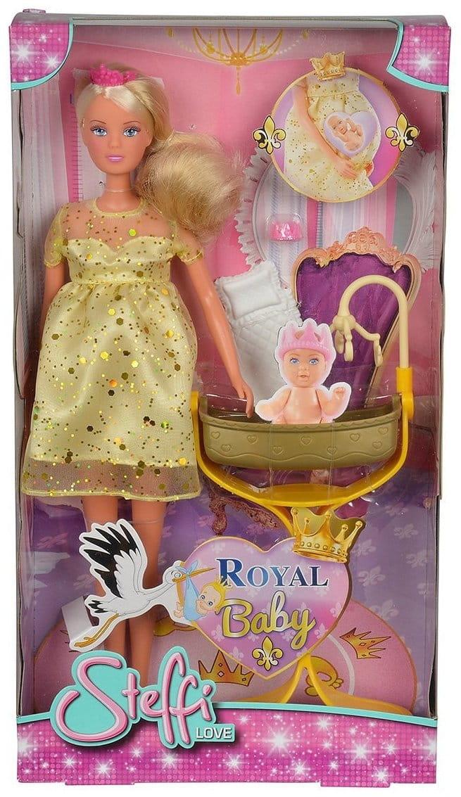 Беременная кукла штеффи с маленьким животиком 90