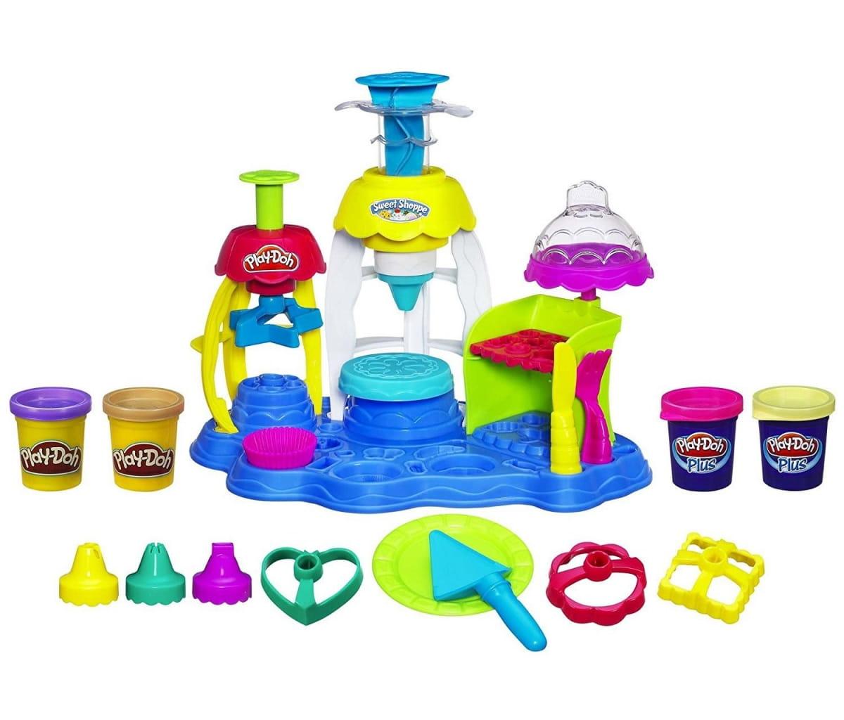 Набор для лепки Play-Doh Фабрика пирожных (HASBRO)