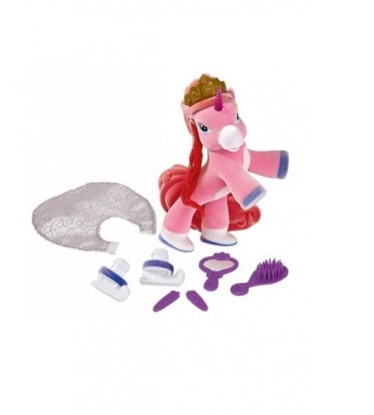 Игровой набор Filly Филли Лошадка королева красоты с горящим рогом (Simba)