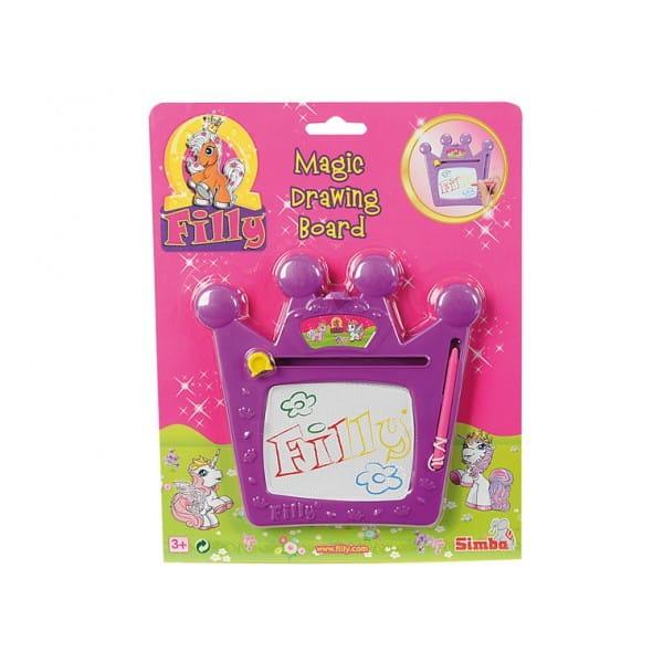 Купить Доска для рисования Filly Филли (Simba) в интернет магазине игрушек и детских товаров