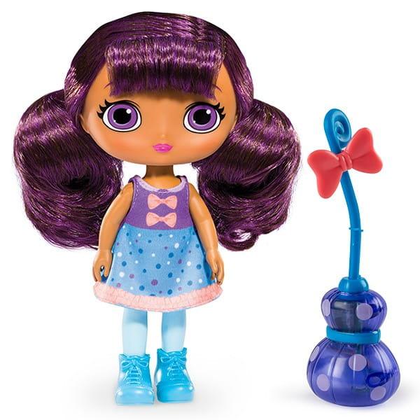 Кукла LITTLE CHARMERS Лавендер Lavender с метлой - 20 см (Spin Master)
