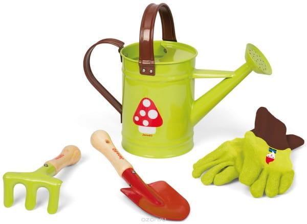 Игровой набор Janod J03228b Маленький садовник - зеленый