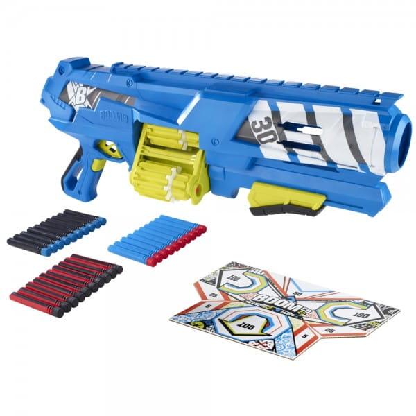 Бластер Boomco Торнадо с утроеной боевой мощью (Mattel)