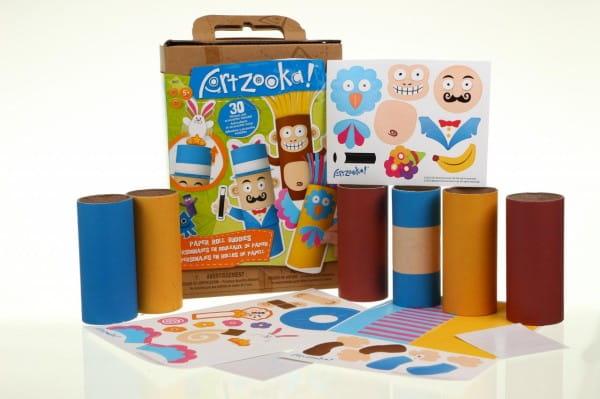 Набор для творчества Artzooka Веселые друзья из бумаги