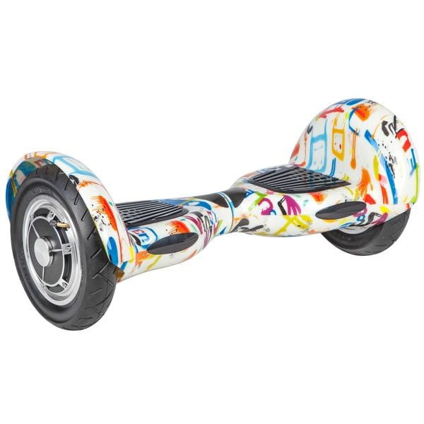Купить Гироскутер Smart Super Big - 10 дюймов (белый) в интернет магазине игрушек и детских товаров