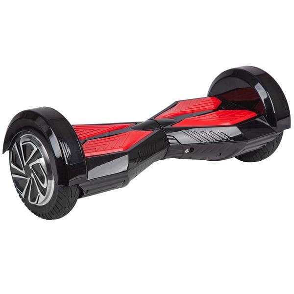 Купить Гироскутер Smart Big X-дизайн с Bluetooth колонками - 8 дюймов (черный) в интернет магазине игрушек и детских товаров