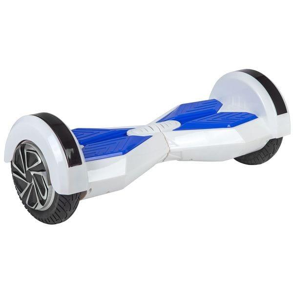 Купить Гироскутер Smart Big X-дизайн с Bluetooth колонками и литиевой батареей Samsung - 8 дюймов (белый) в интернет магазине игрушек и детских товаров