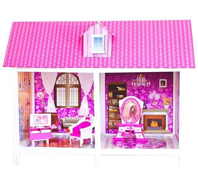 Дом для кукол Барби Paremo PPCD116 - 2 комнаты