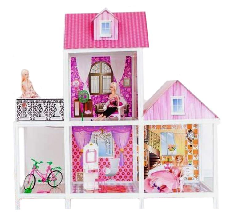 Дом для кукол Барби Paremo PPCD116-01 - 3 комнаты