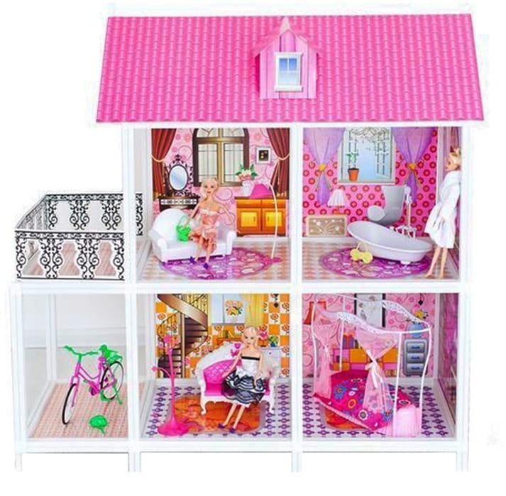 Дом для кукол Барби Paremo - 4 комнаты