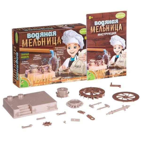 Купить Набор Bondibon Французские опыты Науки с Буки - Водяная мельница в интернет магазине игрушек и детских товаров