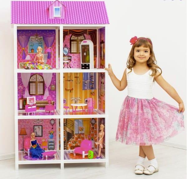 Дом для кукол Барби Paremo - 6 комнат