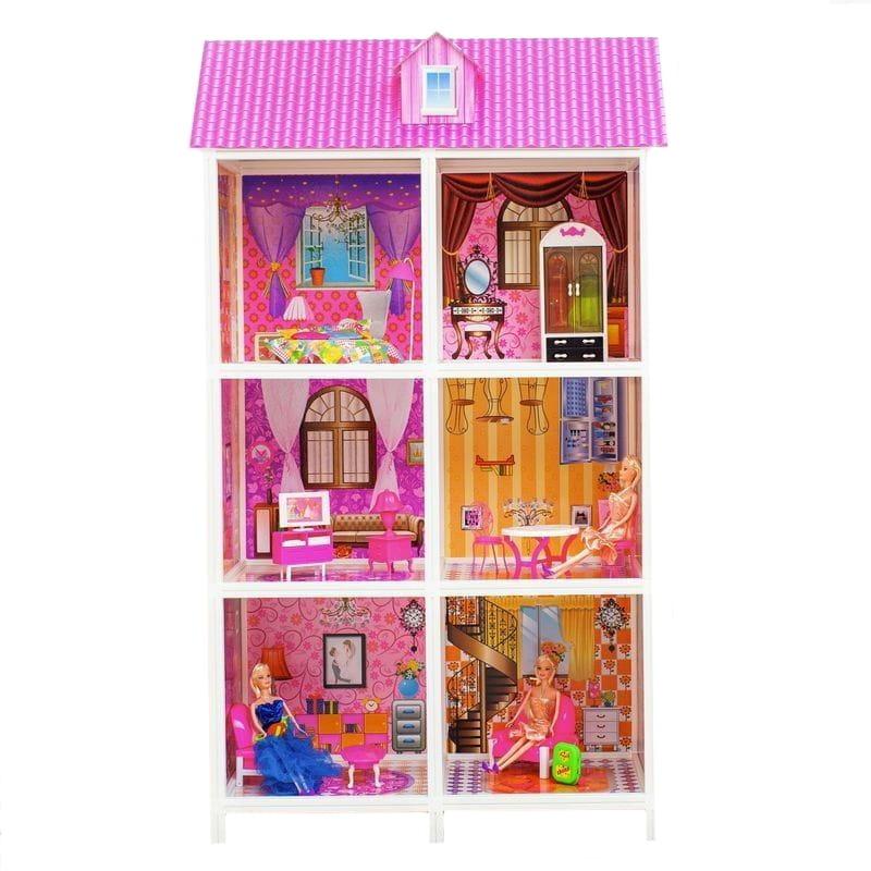 Дом для кукол Барби Paremo PPCD116-06 - 6 комнат
