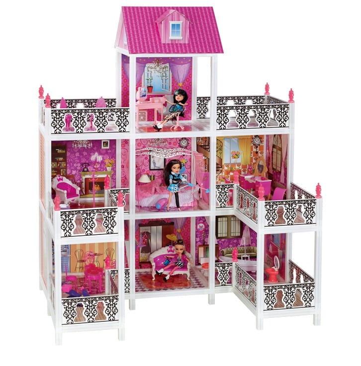 Дом для кукол Барби Paremo PPCD116-08 - 7 комнат