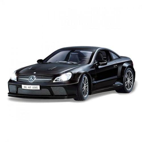 Купить Радиоуправляемая машина iCess Mercedes-Benz SL-65 AMG - черная 1:18 в интернет магазине игрушек и детских товаров
