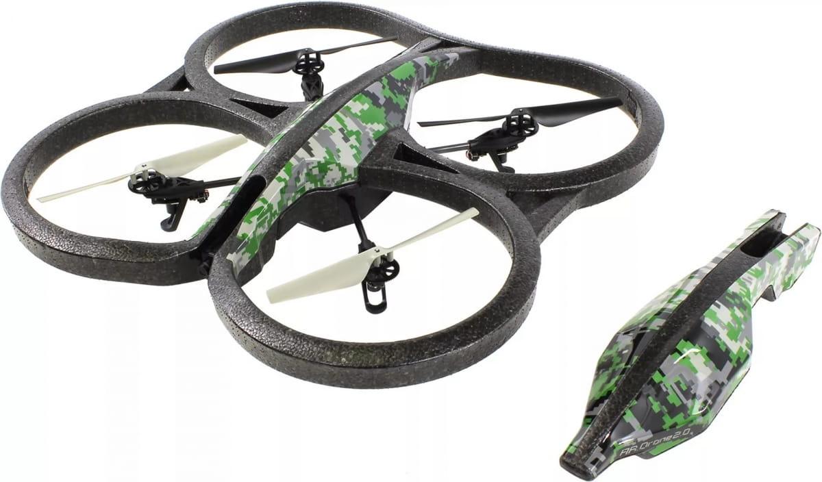 Радиоуправляемый квадрокоптер Parrot AR Drone 2.0 Elite Edition - лесной камуфляж