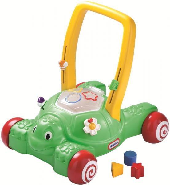 Купить Ходунки-каталка Little Tikes Черепашка (с сортером) в интернет магазине игрушек и детских товаров